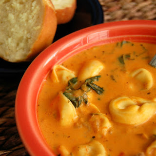 Take It Easy Tortellini Soup