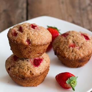 Strawberry Citrus Muffins.
