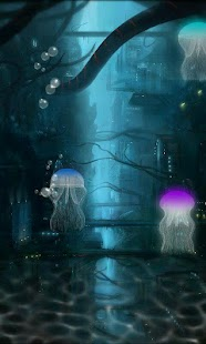 Jellyfish Live Wallpaper Pro - screenshot thumbnail