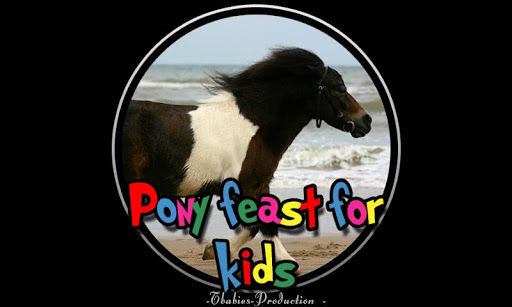 pony feast for kids
