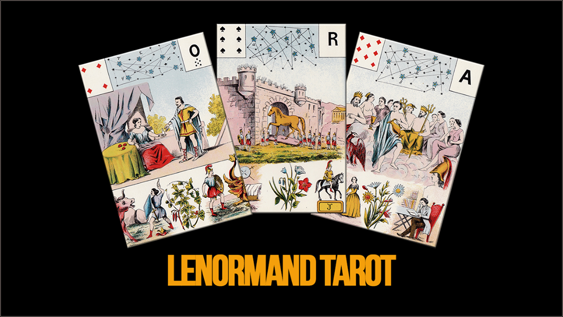 Lenormand Tarot- screenshot