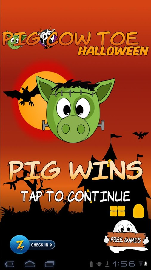 Pig Cow Toe Halloween- screenshot