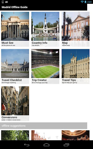 Madrid Offline Travel Guide