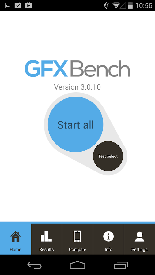 GFXBench 3.0 3D Benchmark - screenshot