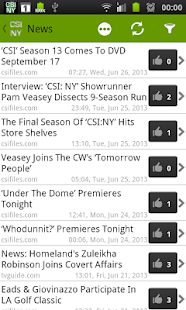 CSI NY Fan - screenshot thumbnail