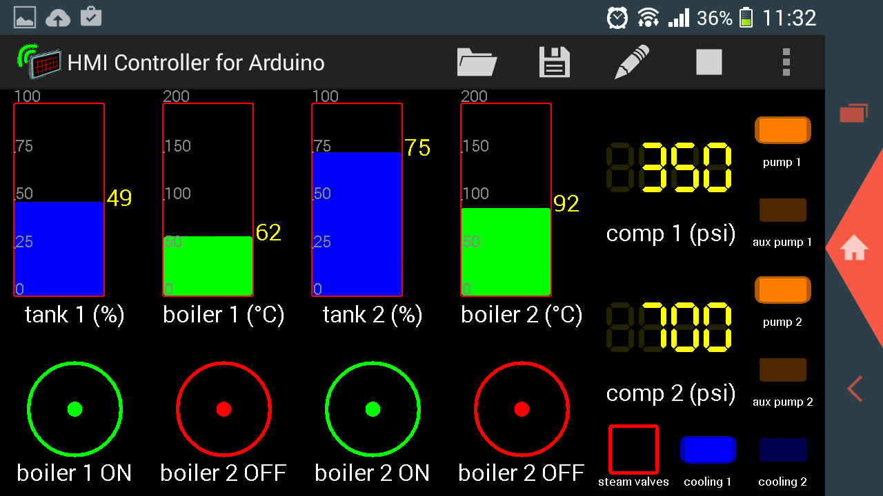 hmi controller for arduino android apps on google play