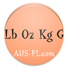 Libra Onza Kilogramo Gram Conv icon