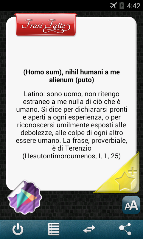 Frasi Fatte e Locuzioni 2000+ - screenshot