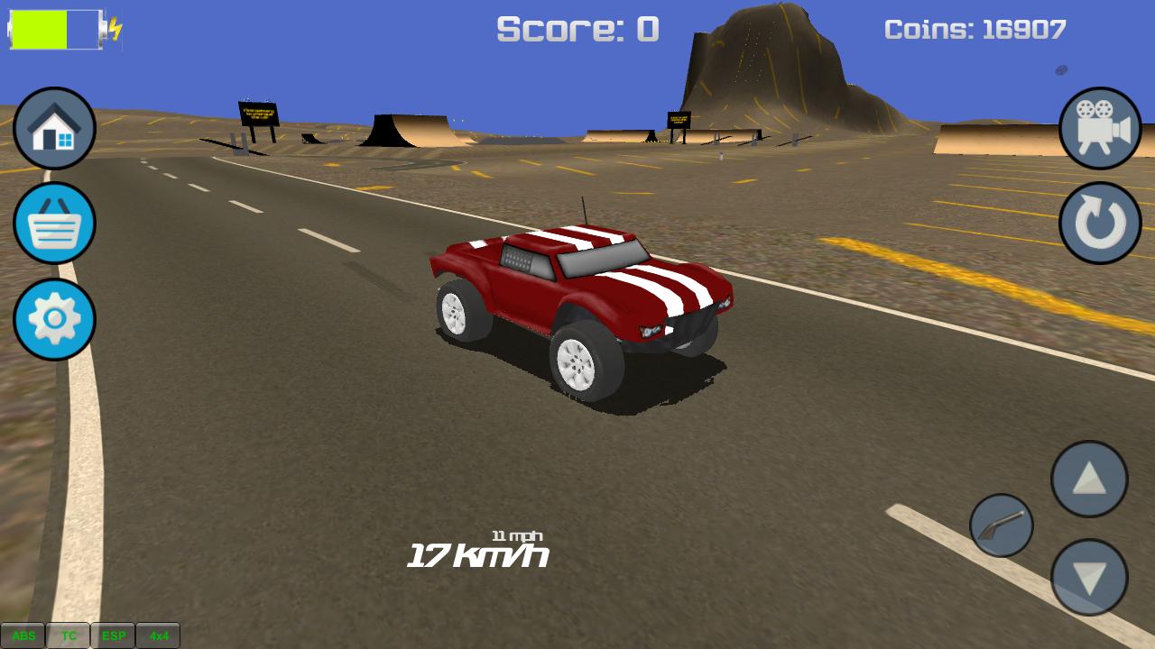 Electric Car Hill Climb Racing Game