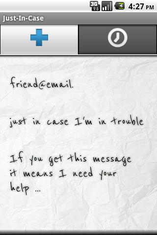 just-in-case- screenshot