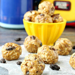 Oatmeal Raisin Energy Balls.