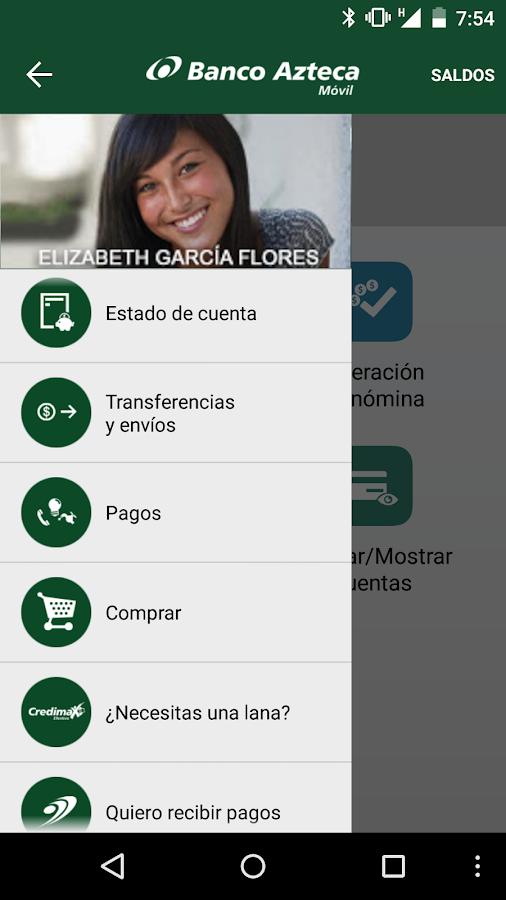 Banco Azteca Móvil- screenshot