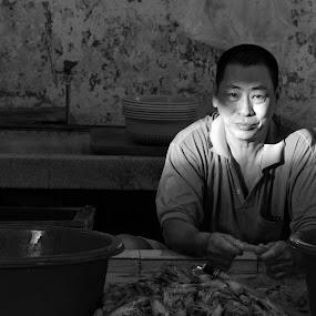 In the light by Karyn Leong - People Portraits of Men (  )