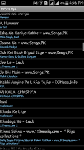 MP3Tube screenshot 1