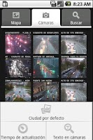 Screenshot of Traffic Cameras in Spain