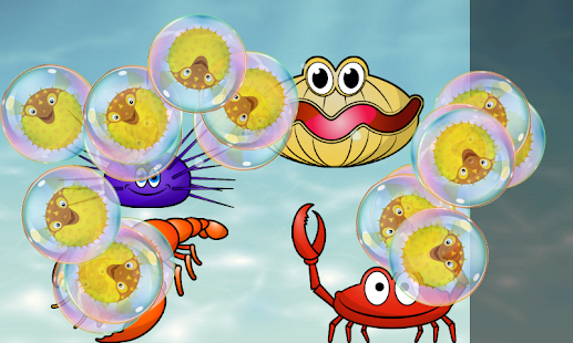 Puzzle for Toddlers Sea Fishes- screenshot thumbnail
