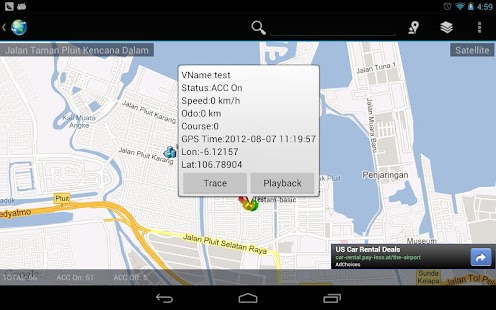 INDOGPS Vehicle Tracker HD- screenshot thumbnail