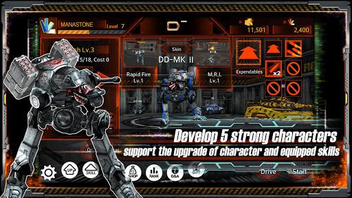 Metal Combat Arena 3D AOS