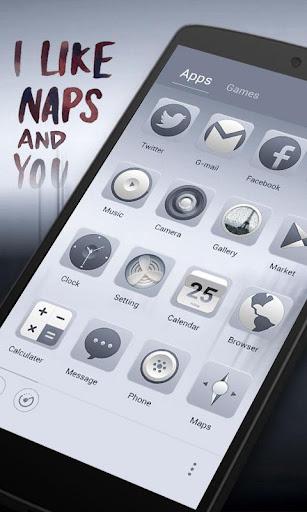 I Like Naps GO Launcher Theme