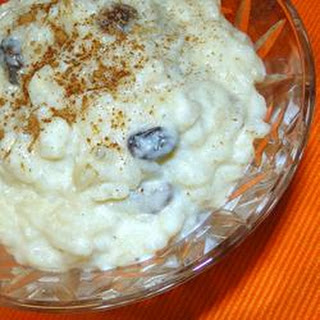 No Fuss Rice Pudding