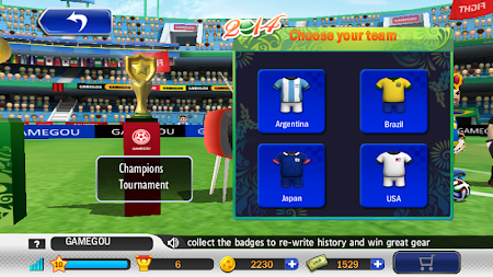 Perfect Kick - Soccer 1.5.5 screenshot 4743