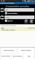 Screenshot of SVOX US English Benny Voice