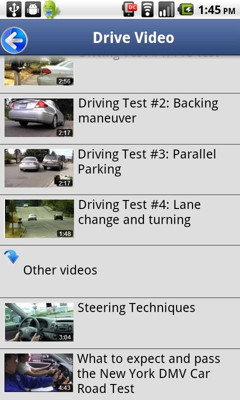 Driver License Test New York: captura de pantalla