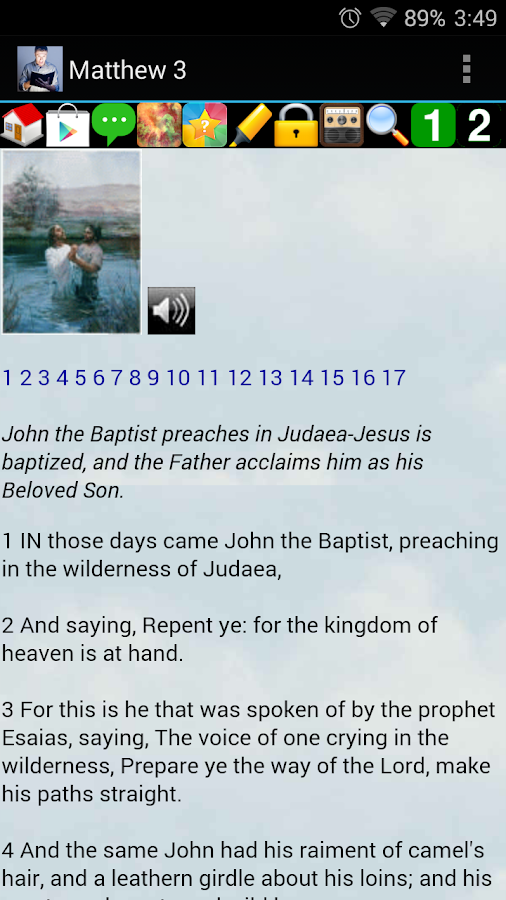 Audio Bible Premium - screenshot