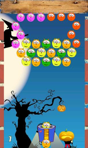 Halloween Bubble Game