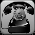 anneaux de téléphone antique icon