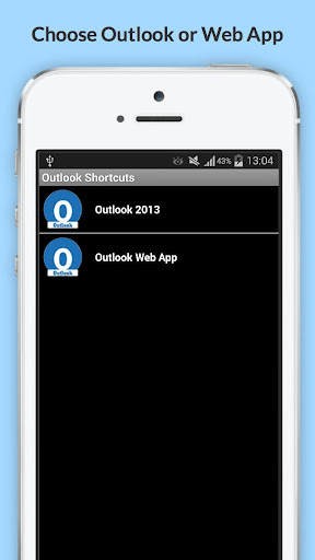 Shortcuts Outlook 365 PRO