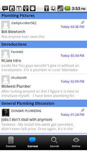 Plumbing Zone Forum - screenshot thumbnail