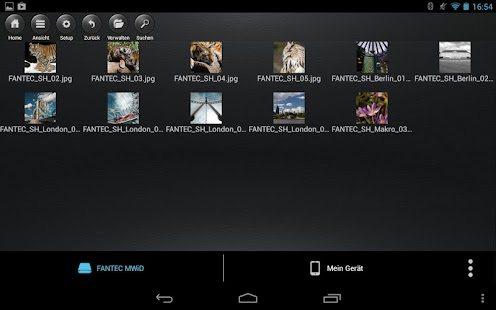 FANTEC MWiD25 Mobile WiFi DisK - screenshot thumbnail