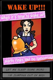 """I Will Wake Up!"" Alarm Clock - screenshot thumbnail"