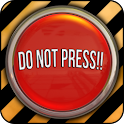 Do Not Press icon