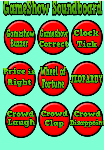 Game Show Sound Board