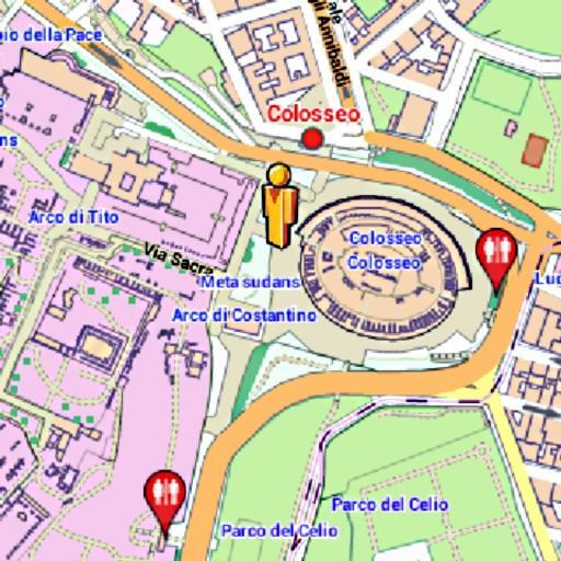 Rome Amenities Map (free)
