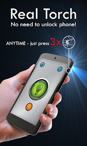 Power Button FlashLight /Torch v2.3.8