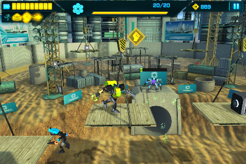 LEGO® Hero Factory Invasion DK - screenshot