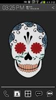 Screenshot of Funky Skull Atom theme (Free)