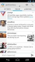 Screenshot of Tweet Lanes