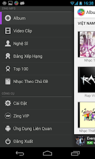 Zing Mp3 - screenshot thumbnail