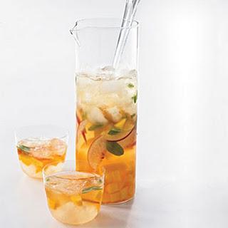 Mango-Peach Sangria.