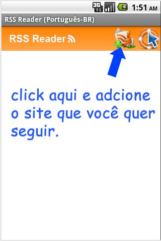 RssReader - Português