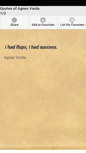 Quotes of Agnes Varda