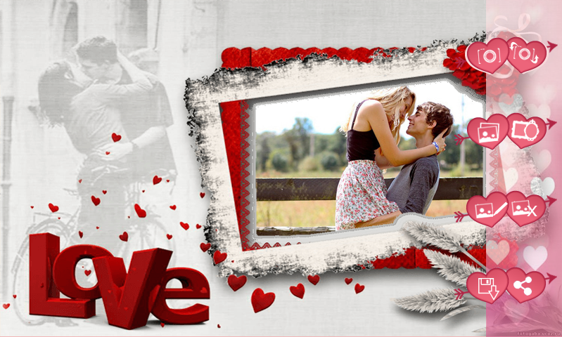 Love Frames Photo Editor- screenshot