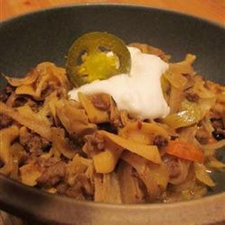 Polish Pork and Cabbage (Haluski)