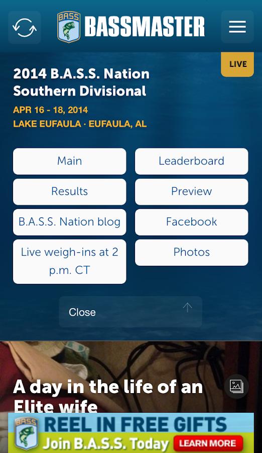 Bassmaster News - screenshot
