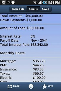 Mortgage Pal- screenshot thumbnail