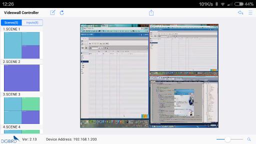 Videowall Control Software